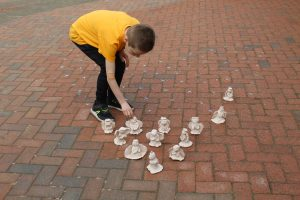 Pupils create clay angels